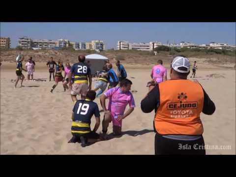 Final Veteranos del III Torneo de Rugby `Playa de Isla Cristina´