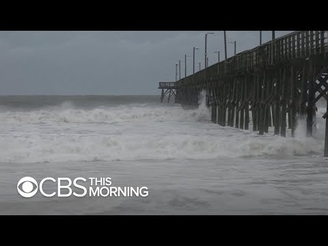 Storm chaser: Hurricane Florence went from