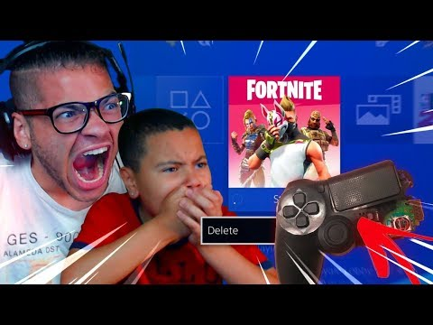 THIS MADE MINDOFREZ RAGE AND *DELETE* FORTNITE AND *DESTROY* HIS PS4 CONTROLLER (FUNNY!)