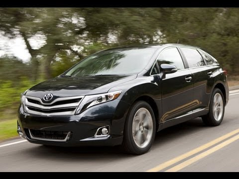 2013 Toyota Venza Drive & Review