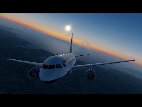 [P3D v4.3] Nailing the Steep Approach into London City!  | BAW2 Aerosoft Airbus A318