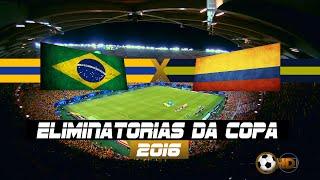 Manaus AM / Arena da Amazônia / 07-09-16Eliminatórias Da Copa 2016 - América do Sul - Rodada 8Lances dos Gols Brazil vs Colombia 2-1 - Globo HDGols: Neymar e Miranda / Marquinhos (Contra)Técnico: Tite  /  All Goals & Highlights / Goles e Resumen