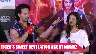 Tiger Shroff Lauds Nawazuddin Siddiqui's Acting Prowess