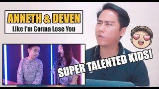 Video Anneth & Deven - Like I'm Gonna Lose You | SINGERS REACT MP3, 3GP, MP4, WEBM, AVI, FLV April 2019