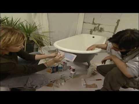 Renovierungs- & Heimwerk Tipps: Emaille Badewanne reparieren