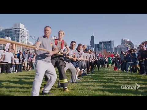 Chicago fire season 6 episode 2 - Tug of war competition