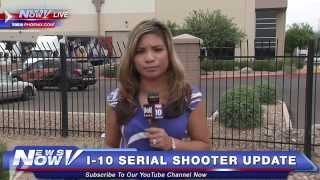 FNN: I-10 Serial Shooter Update - 4 Incidents Being Investigated Today