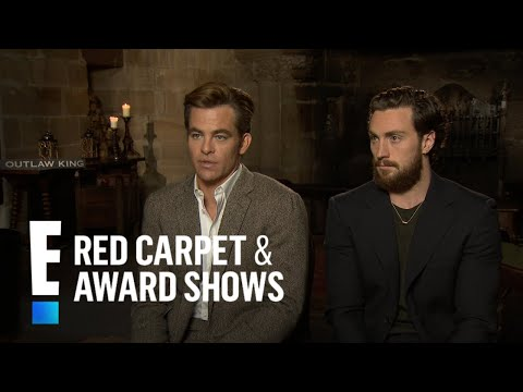 "Chris Pine Talks ""Double Standard"" on ""Outlaw King"" Nude Scene 