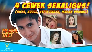 Video PRANK TEXT Aurel, Syifa Hadju, Megan Domani !! MP3, 3GP, MP4, WEBM, AVI, FLV Mei 2019