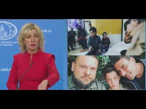 Срочно Мария Захарова  открыла ПРАВДУ Западу на провокацию \Белых касок\ и их кураторов в Сирии - DomaVideo.Ru