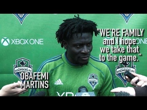 Video: Interview: Obafemi Martins on Playing with Clint Dempsey