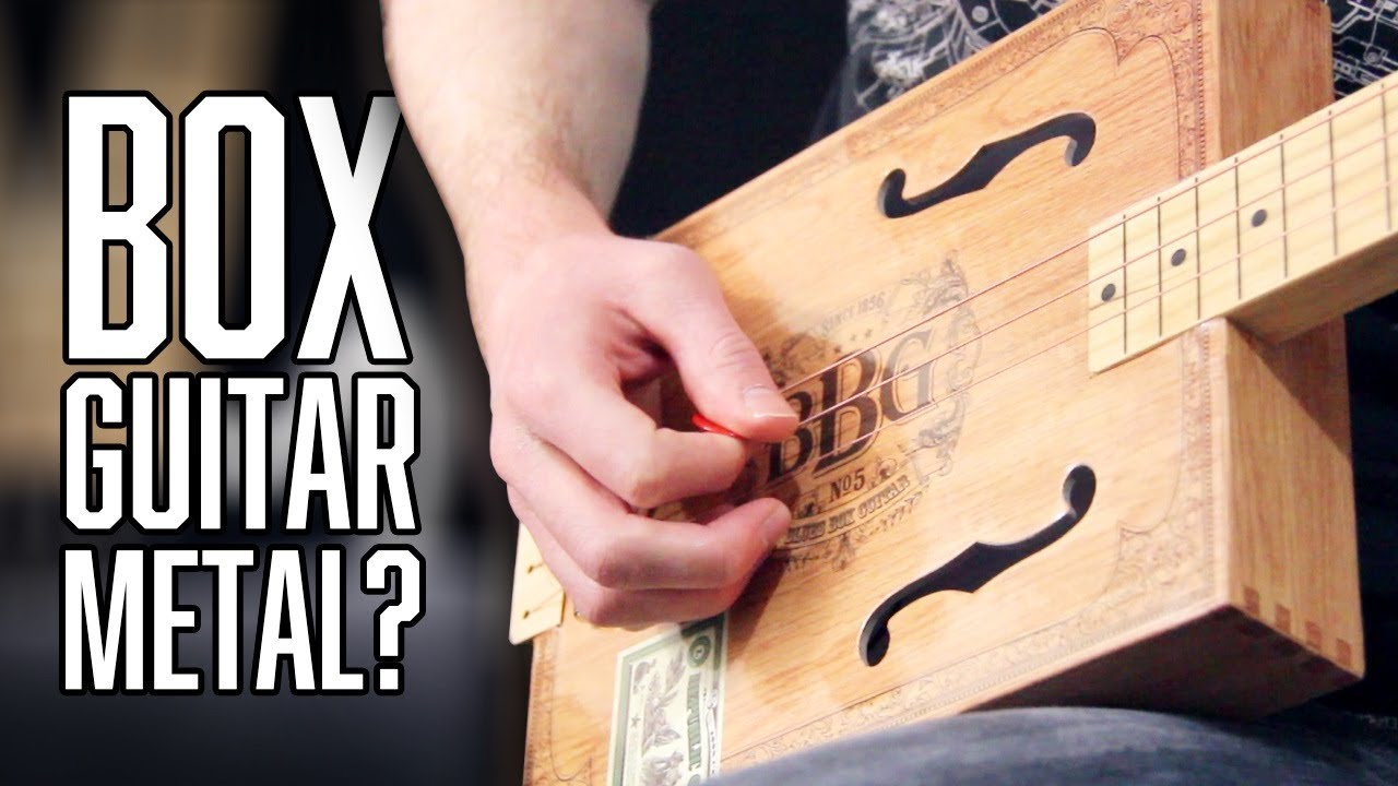 Can A Cheap Box Guitar Play Metal? | Pete Cottrell