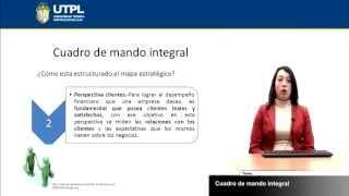 UTPL CUADRO DE MANDO INTEGRAL [(ASISTENCIA GERENCIAL Y RELACIONES PÚBLICAS)(GESTIÓN DE LA CALIDAD)]