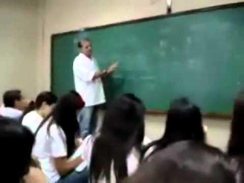 A calma do Professor