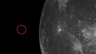 UFO startujące z księżyca uchwycone w teleskopie.