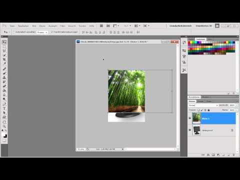 Photoshop CS5 – Bilder perspektivisch einpassen