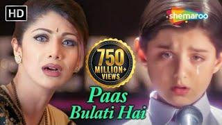 Paas Bulati Hai Itna Rulati Hai - Jaanwar Songs [HD] - Shilpa Shetty - Sunidhi Chauhan - Alka Yagnik Video