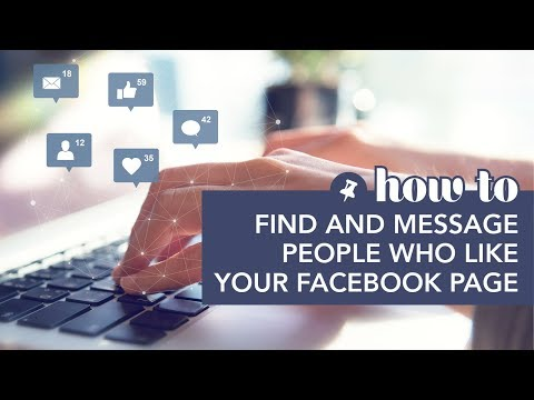 Find and Message People Who Like Your Facebook Page видео