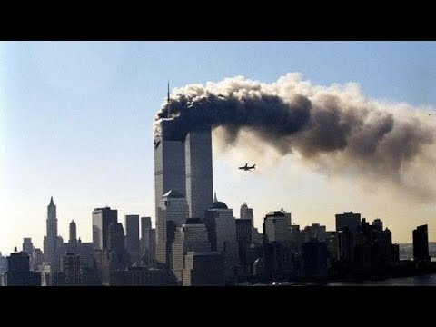 9/11 Unseen footage  (WARNING Age-restricted)