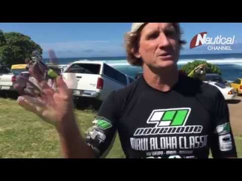 Robby Naish from the Aloha Maui Classic