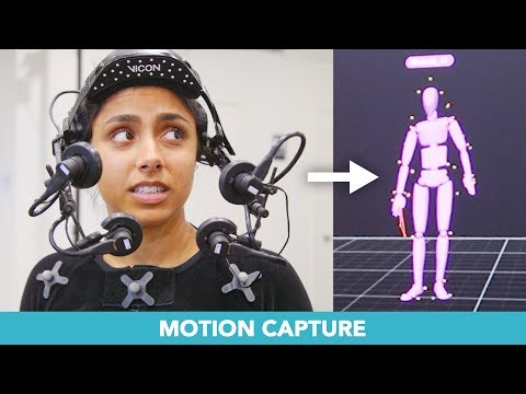 I Learned Hollywood Motion Capture