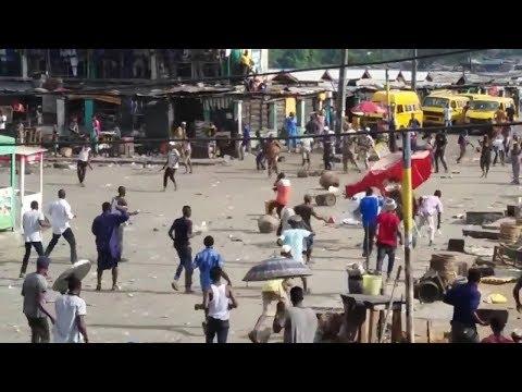 Download FIGHT BETWEEN SARAKI BOYS AND BOLA TINUBU POLITICAL REAL WAR