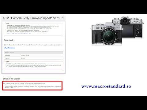 Primul upgrade la aparatul foto mirrorless FujiFilm X-T20