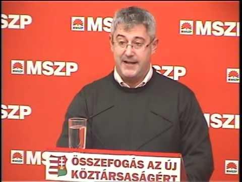 Szászfalvi László azonnali felmentését követeli az MSZP