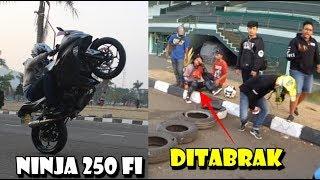 Video Ninja Wheelie Orian Aja Ringan Banget - Ada Cewe Ditabr4k Pings4n MP3, 3GP, MP4, WEBM, AVI, FLV Maret 2019