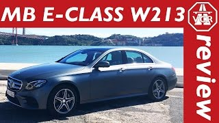2017 Mercedes Benz E 400 4MATIC W213 - In-Depth Review, Full Test, Test Drive by Video Car Review