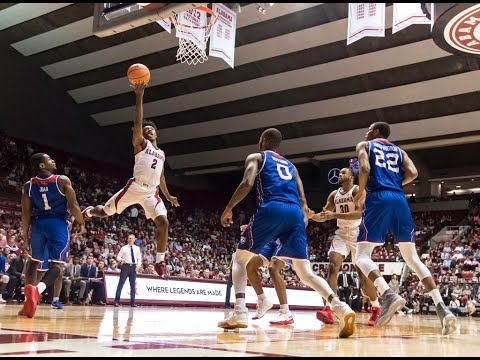 Avery Johnson, Dazon Ingram and Donta Hall talk about the Tide's tight win over La. Tech Wednesday