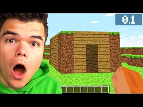 Visiting My MINECRAFT ALPHA HOUSE! (13 Years Ago)