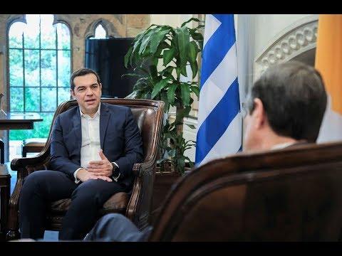 Συνάντηση με τον Πρόεδρο της Κυπριακής Δημοκρατίας, Ν. Αναστασιάδη