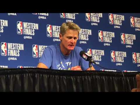 Good quotes - Steve Kerr quotes on Steph Curry, said he's