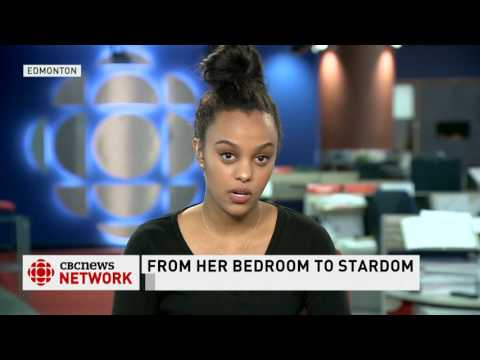 CBC News Network Ian Hanomansing interviews Ruth B on her Juno nomination part 1