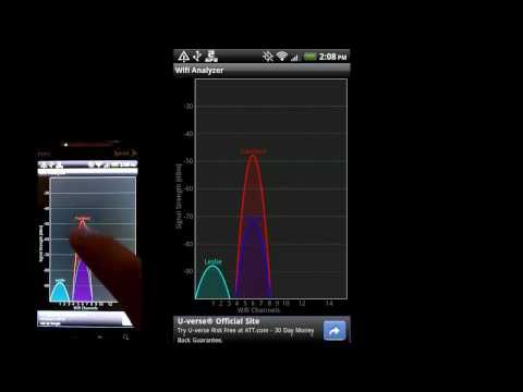 Video of Wifi Analyzer