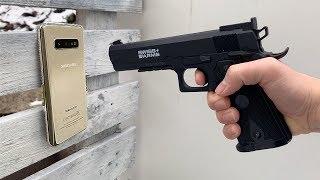 Samsung Galaxy S10 vs GUN