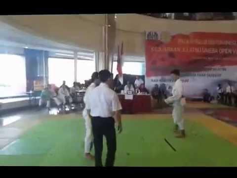 Kejuaraan Jujitsu Nasional UNESA Dimas Hakim Tejo ( Merah / Gresik ) vs Jama'ah ( Putih / Madura )