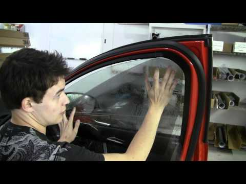 How to Tint a Door Window
