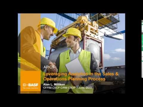 APICS 2016 Preview: Leveraging Analytics in the S&OP Process at BASF