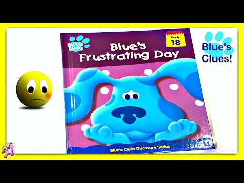 """BLUE'S CLUES """"BLUE'S FRUSTRATING DAY"""" - Read Aloud - Storybook for kids, children"""