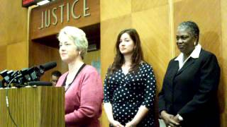 Houston Mayor Annise Parker announces the selection of award-winning novelist and poet Gwendolyn Zepeda as ts first Poet...