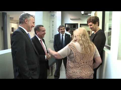 La Presidenta inauguró nuevas obras del Instituto de Biología y Medicina Experimental