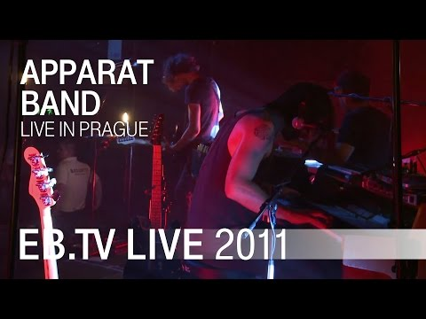 electronic (band) - Apparat Band live at the Electronic Beats Festival in Prague (June 10th, 2011) Watch the band perform their songs