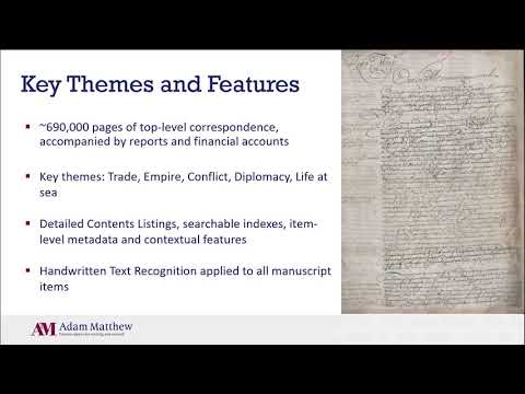 India Office Records, E: Correspondence: Early Voyages, Formation and Conflict - New for 2020