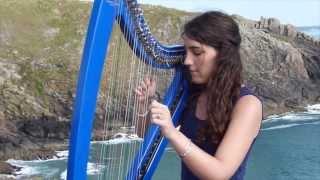 Daft Punk - Get lucky - harp / harpe