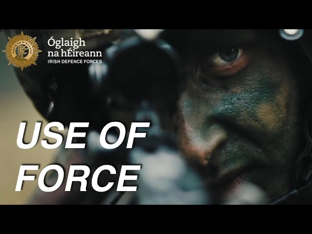 Irish Defence Forces Use of Force