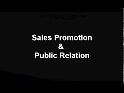 Ausbildung zum Industriekaufmann 14  Sales Promotion und Public Relation