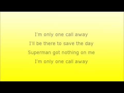 One Call Away Lyrics - Charlie Puth Lyrics HD