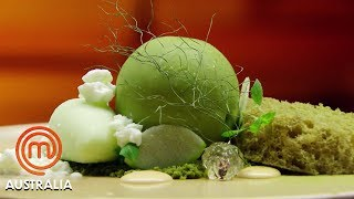 Video Reynold Poernomo's Amazing Moss Dessert - MasterChef Australia | MasterChef World MP3, 3GP, MP4, WEBM, AVI, FLV Mei 2019